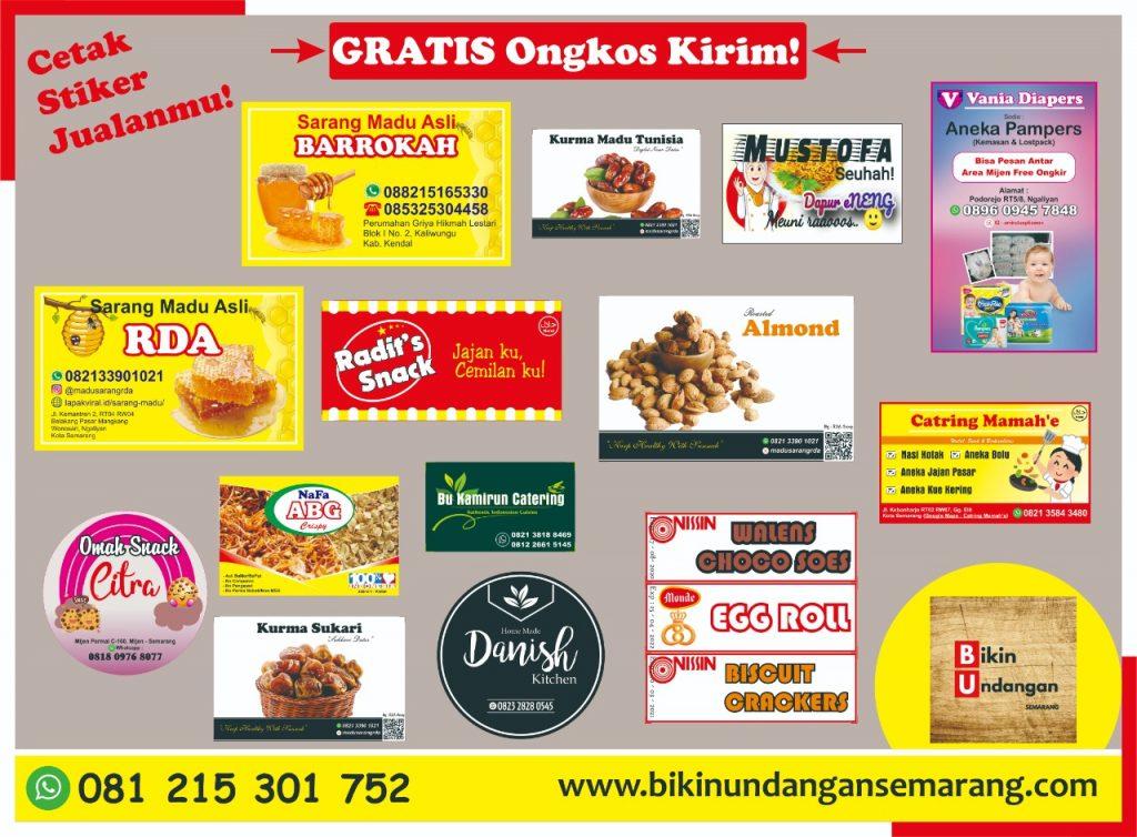Cetak Stiker Murah Semarang